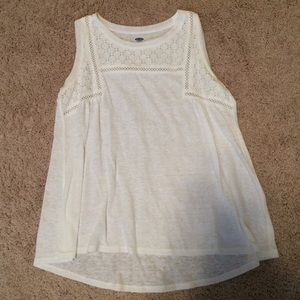 Old Navy Shirts & Tops - White old navy tank top